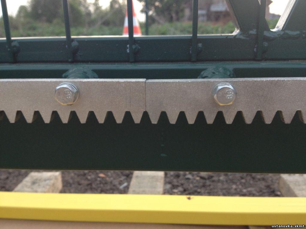 Зубчатая рейка ворот электрические привода для ворот